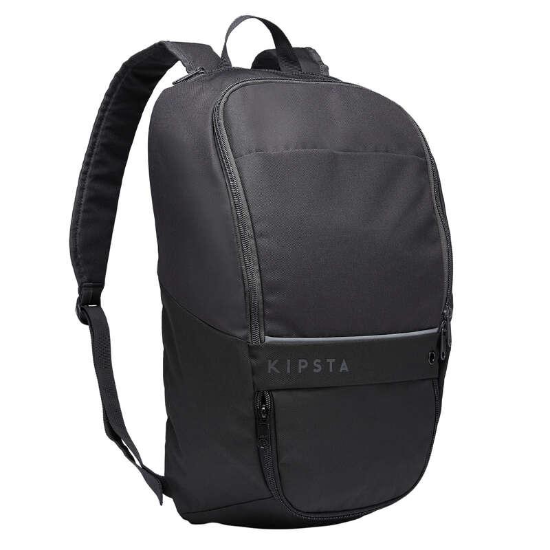 BAG TEAM SPORT Rugby - 17L Bag Essential - Black KIPSTA - Rugby