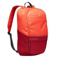 17-Litre Backpack Essential - Coral/Burgundy