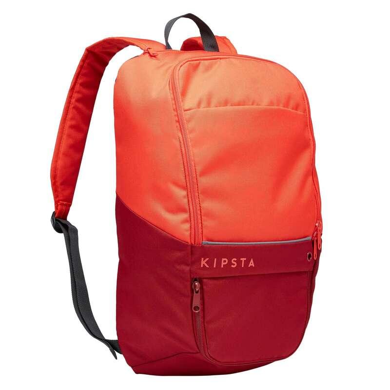 Borse sport collett. Sport di squadra - Zaino ESSENTIAL 17L rosso KIPSTA - Borse, pettorine, ostacoli e accessori