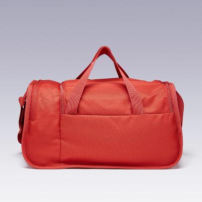 Sac de sports collectifs Kipocket 20 litres rouge brique