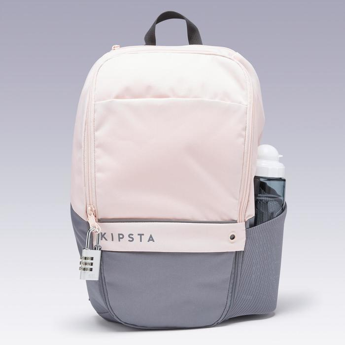 17L Backpack Essential - Pink/Grey