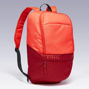 Sports Backpack with shoe pocket 17L - Coral/Red