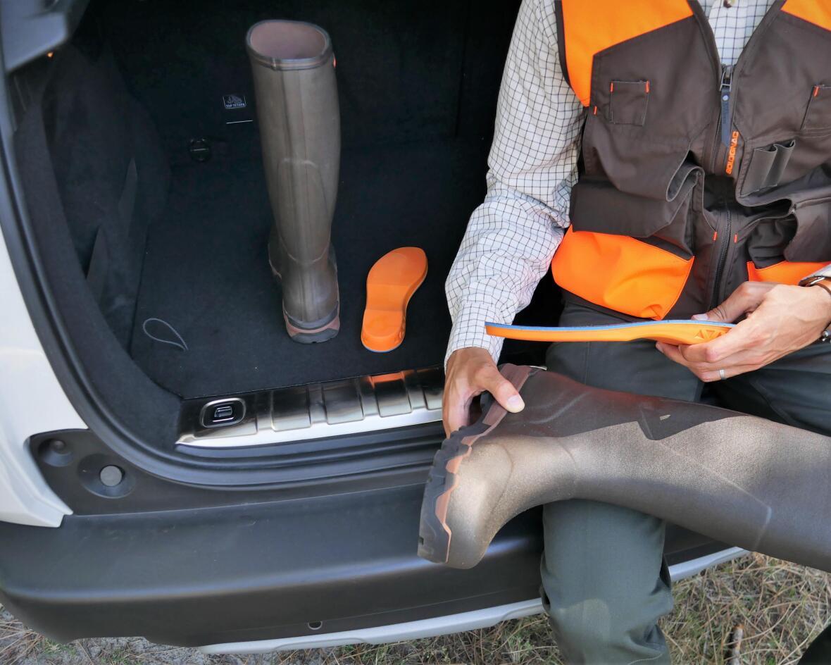 Bottes de chasse renforcées pour bécassier