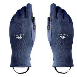 Handschuhe Wandern MH500 Stretch Kinder blau