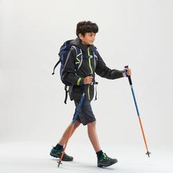 Veste imperméable de randonnée - MH550 grise - enfant