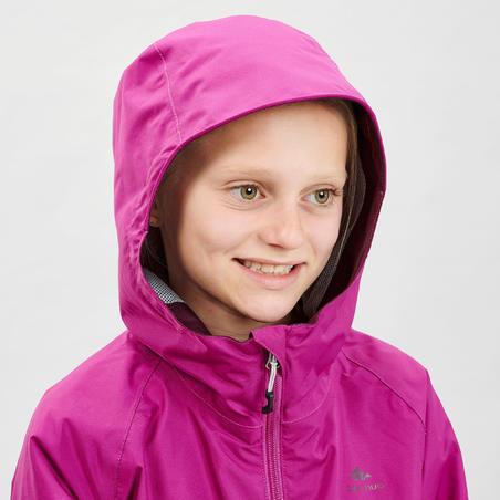 MH500 Waterproof Hiking Jacket - Kids