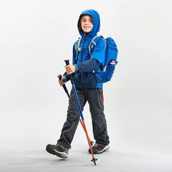 Waterdichte wandeljas voor kinderen MH500 marineblauw