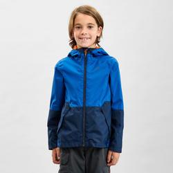 Casaco impermeável de caminhada - MH500 azul marinho - criança 7-15 anos
