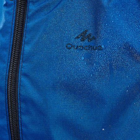 Veste imperméable de randonnée - MH500 bleu marine - Enfants