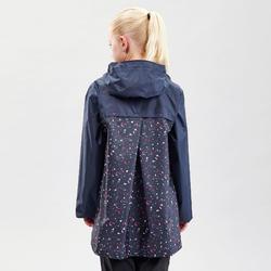 Veste imperméable de randonnée - MH150 bleu marine - enfant