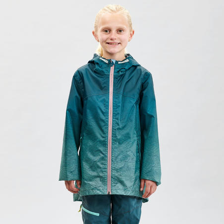 Jaket hiking tahan air anak MH150 - Tosca