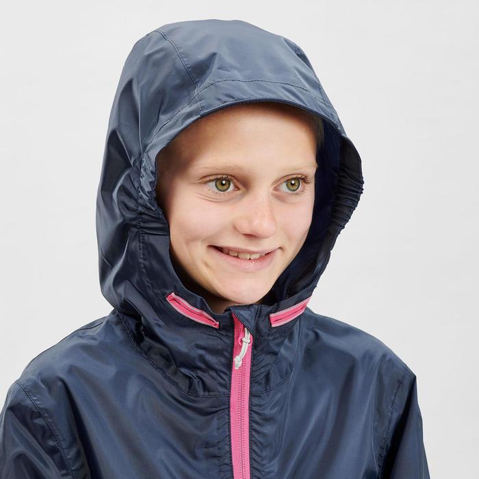 MH150 Kids' Waterproof Hiking Jacket - Navy