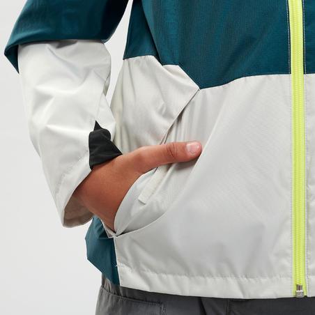 Veste de randonnée imperméable MH500 - Enfants