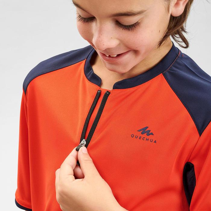 兒童款健行T恤 MH550-橘色