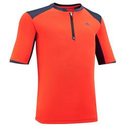 T-Shirt de randonnée - MH550 orange - enfant 7-15 ANS