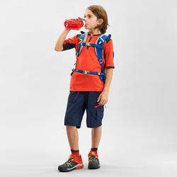 Wandelshirt voor kinderen MH550 oranje