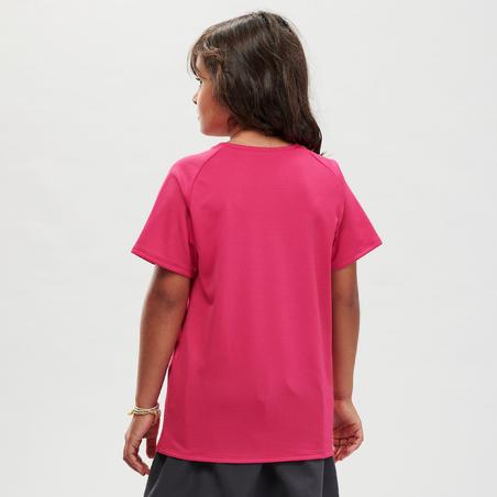 Kids' Hiking T-Shirt - MH500 Aged 7-15 - Pink