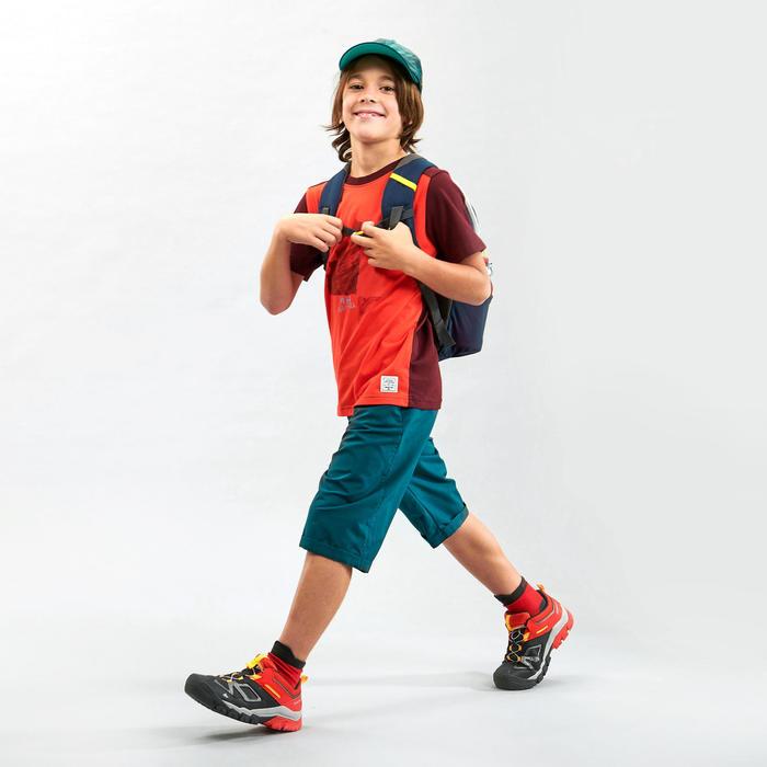 Wandelshort voor kinderen MH100 groen