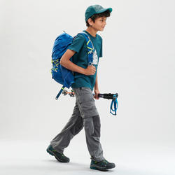 T-Shirt de randonnée - MH100 vert foncé - enfant