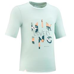 Wandel T-shirt voor kinderen MH100 lichtgroen 7 tot 15 jaar