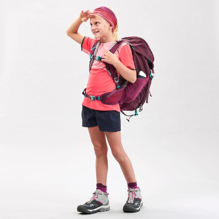 T-Shirt de randonnée - MH550 rose - enfant