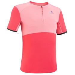 Wandelshirt voor kinderen - MH550 - roze