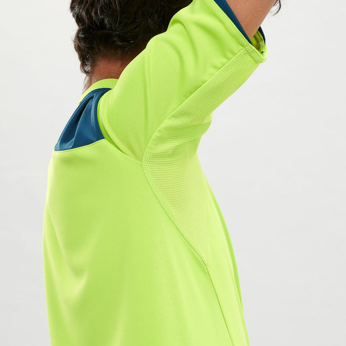 T-Shirt de randonnée - MH550 vert - enfant
