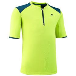 T-Shirt de randonnée - MH550 vert - enfant 7-15 ANS