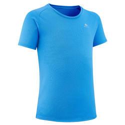 兒童款健行T恤 MH500-藍色