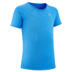 T-shirt de caminhada - MH500 azul - Criança 7-15 ANOS