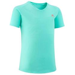 Wandel T-shirt voor kinderen MH500 turquoise