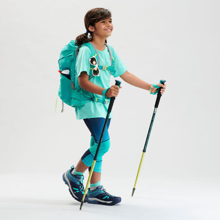 Kids' Hiking T-Shirt - MH500 Turquoise