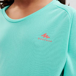 Kids' Hiking T-Shirt - MH500 Turquoise