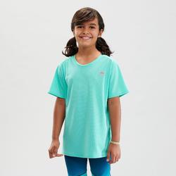 T-shirt de randonnée - MH500 turquoise - enfant