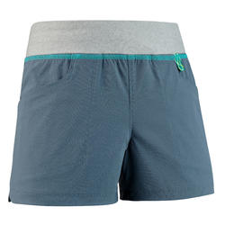 Children's hiking shorts - MH500 dark grey