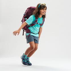 Short de randonnée - MH500 gris foncé - enfant 7 - 15 ans -