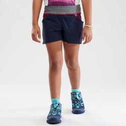 Short de randonnée - MH500 bleu foncé - enfant 7-15 ans -