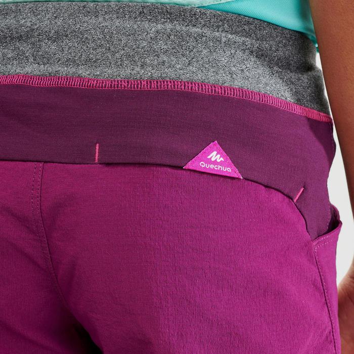 Short de randonnée - MH500 violet - enfant 7-15 ans -