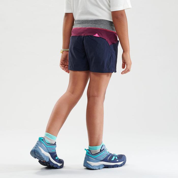 Short de randonnée - MH500 bleu foncé - enfant