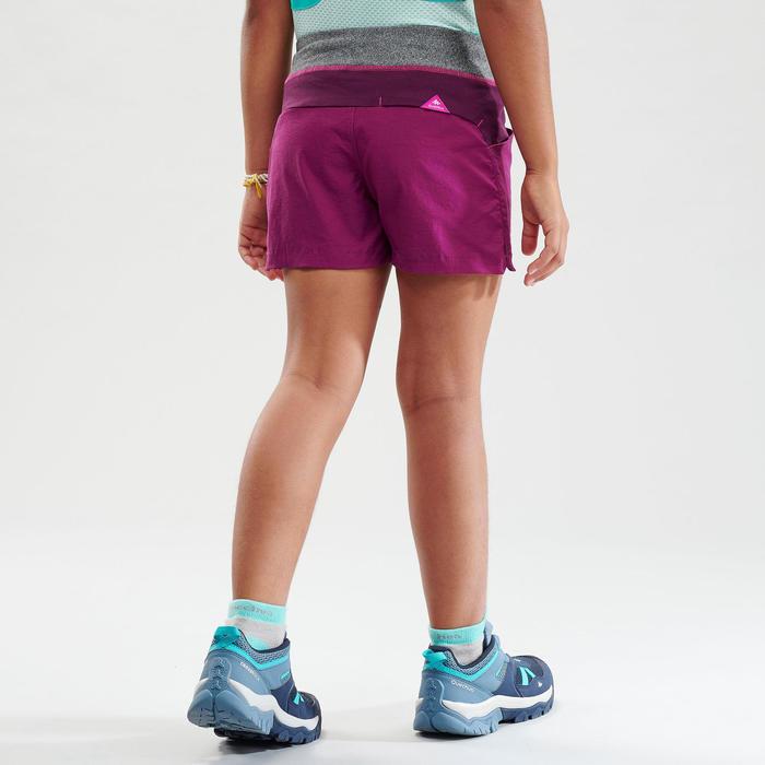 Short de randonnée - MH500 violet - enfant
