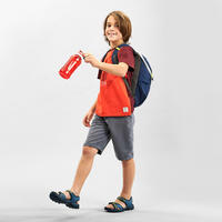 Short de randonnée - MH100 gris - enfant 7-15 ans -