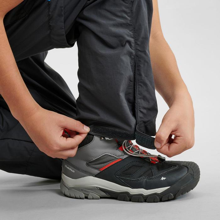 男童款模組褲MH500-碳黑色