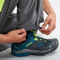 Pantalon de randonnée modulable enfant MH500 gris foncé 7-15 ans