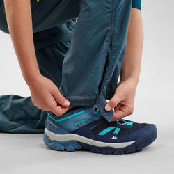 Wandelbroek voor kinderen MH500 afritsbaar turquoise