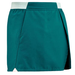 Jupe short de randonnée - MH100 turquoise - enfant 7-15 ans