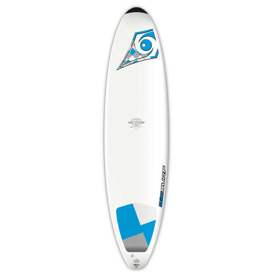"""Surfboard Bic 7'3"""" met pad voor achterste voet - 176053"""