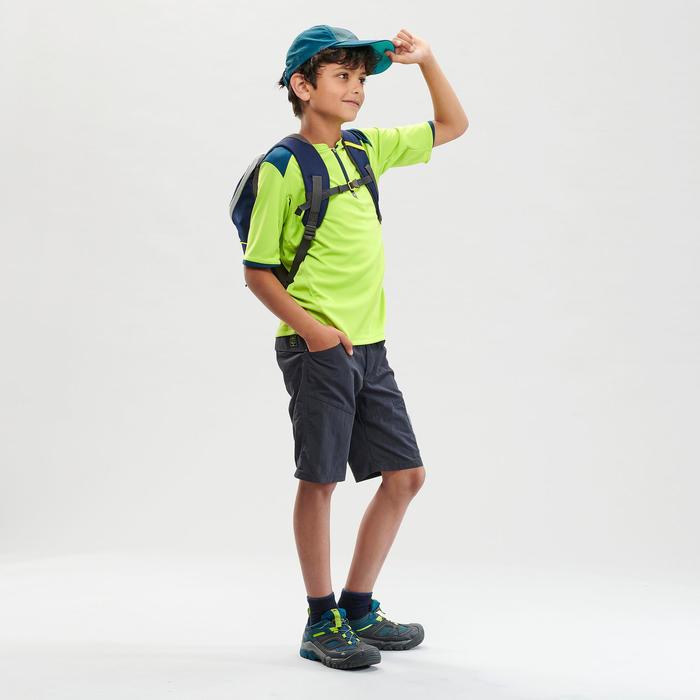 兒童款健行T恤-MH550-綠色