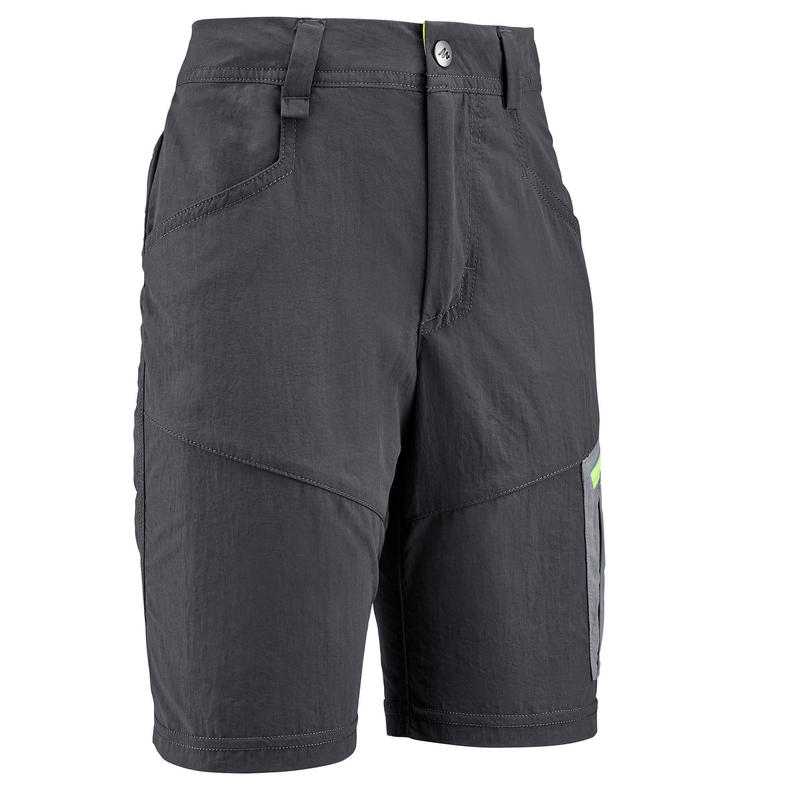 Short de randonnée - MH500 gris - enfant 7-15 ans