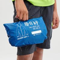 Дитяча вітровка 150 для туризму - Синя