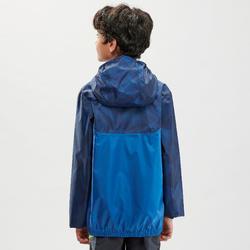 Veste imperméable de randonnée - MH150 bleue - enfant